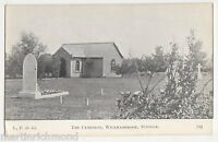 Suffolk, The Cemetery, Wickhambrook Postcard, B506
