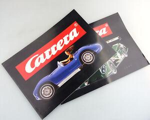 2x Carrera Katalog von 2001und 2002 DIN A4 sehr guter Zustand #991