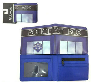 Doctor Who Wallet Purse Mens Kids Tardis Timelord ABC BBC TV Series Gift DR AUS