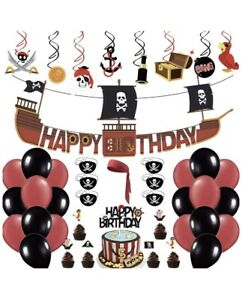 Pirate Themed Birthday Decorations Party Supplies