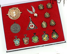 14 pcs Harry Potter Hermione necklace Pendant Ring Box Set Gift Collect Cosplay