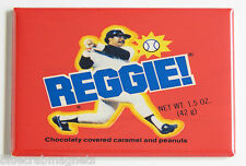 Reggie Bar FRIDGE MAGNET (2 x 3 inches) Jackson candy baseball New York Yankees