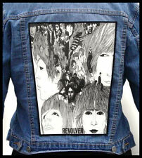 THE BEATLES - Revolver --- Giant Backpatch Back Patch