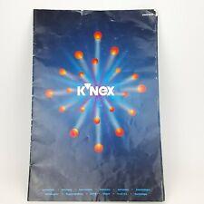 K'nex Big Ball Factory 63045 47045 Instruction Manual Replacement Part 1995