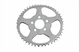 Rear Sprocket Chrome 51 Tooth for Harley Davidson by V-Twin