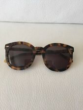 100% Auth BNIB Karen Walker Tortoise Super Duper Strength Sunglasses Rrp$349