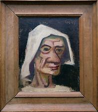 Carl Hofer 1887-1955 Charakterbildnis Öl Ausstellung publiziert Werkverkzeichnis