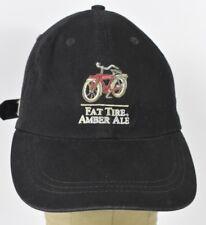 Black Fat Tire Amber Ale Bike Logo Embroidered baseball hat cap adjustable