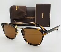 NEW Oliver Peoples Lerner OV5369S 100353 50 Cocobolo Gold Cosmik Glass AUTHENTIC