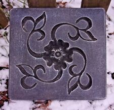 Flower stepping stone mold concrete plaster mould