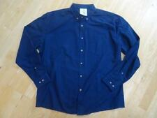COLLUSION ASOS mens blue long sleeve oversize shirt MEDIUM NEW BNWOT