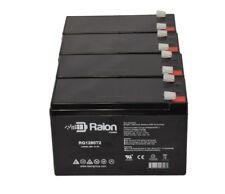 Enduring 6FM8 T2, 6-FM-8 T2 12V 8Ah UPS Raion Battery RG1280T2 4pk