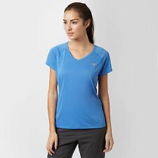 The North Face Women's Reaxion Tee Blue Size UK XS Dh078 AA 10