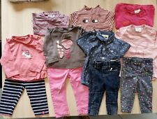 11 Teile Mädchen, Langarmshirts Jeans 74-80 Leggings Bluse, Liegelind Mexx Zara