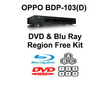Oppo BDP-103 / 103D DVD & Blu Ray Region Free Unlock Kit.