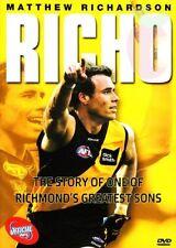 RICHO Matthew Richardson Story - RICHMOND Tigers AFL DVD Region 0 = All Regions