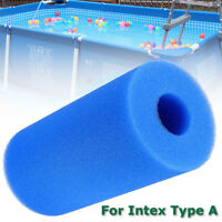 Washable Reusable Swimming Pool Filter Foam Sponge Cartridge For Intex Type A