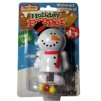 Treat Street Holiday Pooper Christmas Snowman Wind Up Candy Poop Toy NEW
