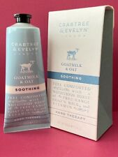 New ListingCrabtree & Evelyn Goatmilk & Oat Soothing Hand Therapy 3.45oz Nib