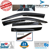 WIND RAIN SUN SMOKE DEFLECTORS 4pcs FOR VW GOLF MK4 1998-2004 HATCH SEDAN 5 DOOR