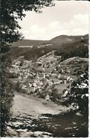 Ansichtskarte Luftkurort Schenkenzell im Schwarzwald / Stadtansicht schwarz/weiß