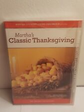 Martha Stewart Holidays: Classic Thanksgiving (DVD, 2005) New, Sealed