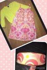 Gap Kids Dress Core Pink Yellow 10 12 14 16 Cardigan Set George Girls Headband