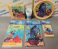 Disney Finding Dory 6 Item Party Bundle Table Cover Plates Cups Napkins Bags....