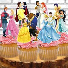 Disney Princesses and Prince Cupcake Topper (12pcs)