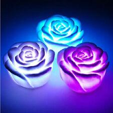 Unscented Rose Candles & Tea Lights