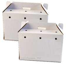 PPI Cardboard Animal Carriers Large 460x255x320mm - 3422