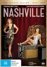 Nashville : Season 2 : Part 2 (DVD, 2015, 3-Disc Set)  New Stock (D51)(D152)