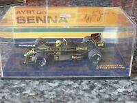 MINICHAMPS Lotus Renault 98T 1986 Ayrton Senna 1:43