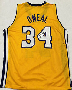 Shaq O'Neal Signed Autographed Los Angeles Lakers Jersey COA