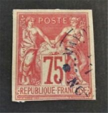 nystamps French Colonies Stamp # 28 Used $110