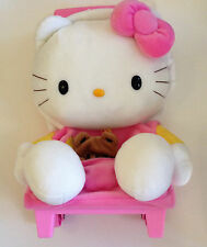 VINTAGE SANRIO HELLO KITTY PINK ROLLING LUGGAGE NWT
