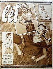 * lei N° 30/ 22/LUG/1952 * Rivista di moda *