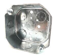 "RACO 125 Octagonal 4x4""  Box 1-1/2"" Deep 1/2"" KO's"