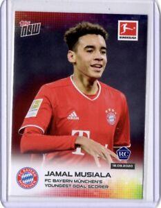 Topps Now 006 Jamal Musiala Rookie 1st Card, Bayern Munich / Germany