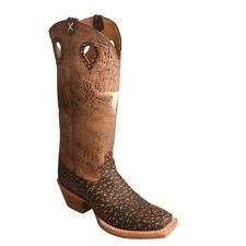 Twisted X Men's Buckaroo Roca Chocolate & Craquel Cafe Boots MBKL014
