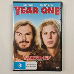 Year One DVD - Jack Black, Michael Cera - Region 4 - TRACKED POST