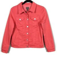 New! Stitch Fix | Mix by 41 Hawthorn Coral Denim Jacket - Small - New with Tags!