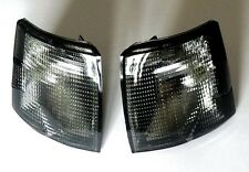 VW T4 TRANSPORTER 90-03 FRONT INDICATORS REPEATERS SET LEFT + RIGHT SMOKED PAIR