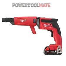 Milwaukee M18FSGC-202X 18V Drywall Screwgun with 2 x 2.0Ah Batteries