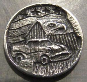 Deep Carved Hobo Nickel, American Made