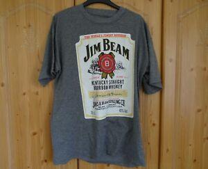 Jim Bean Bourbon Whiskey - Men's - Unisex T Shirt Size M