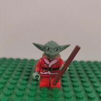 Lego Minifigure Santa Yoda 2011 Star Wars Christmas Advent Calendar Set# 7958