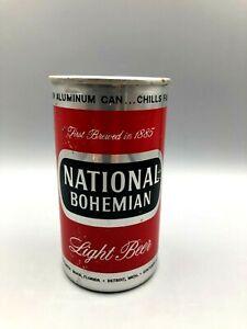 Vintage 12oz NATIONAL BOHEMIAN Aluminum Zip Tab Beer Can National Brew Baltimore