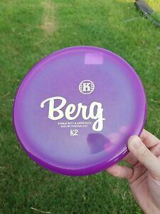 Kastaplast Berg K2 Plastic OOP Golf Disc ~175g  new no ink rare k1 soft