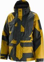 $189 NEW 1o.OOOmm BURTON MENS ANALOG PERIMETER JACKET XL UK 44 BOOSTER PRINT